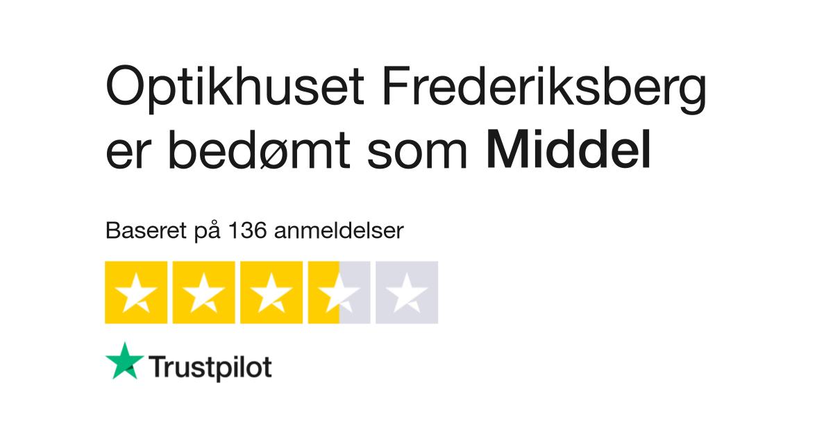 67ac428d2f48 Anmeldelser af Optikhuset Frederiksberg