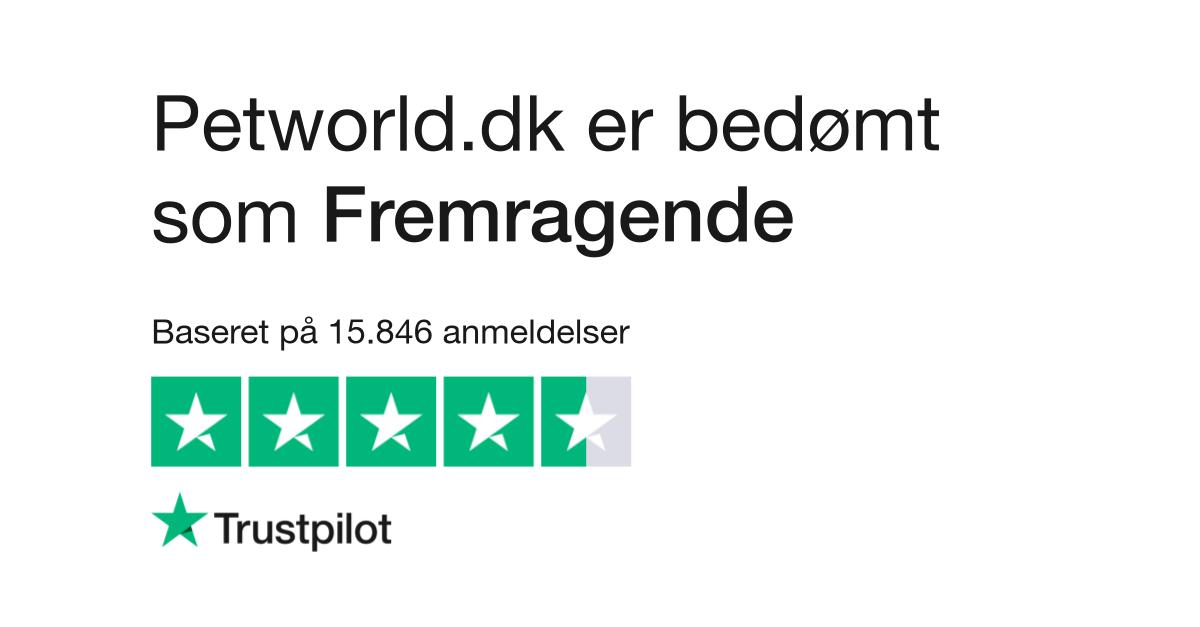 9223db2cfeb Anmeldelser af Petworld.dk | Læs kundernes anmeldelser af www.petworld.dk |  5 af 433