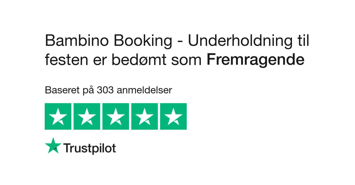 Anmeldelser Af Bambino Booking Underholdning Til Festen Læs