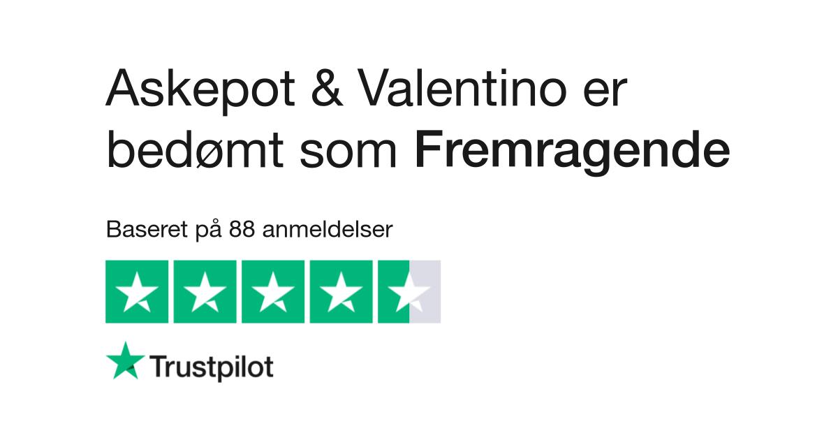 fe4cefaa7371 Anmeldelser af Askepot   Valentino