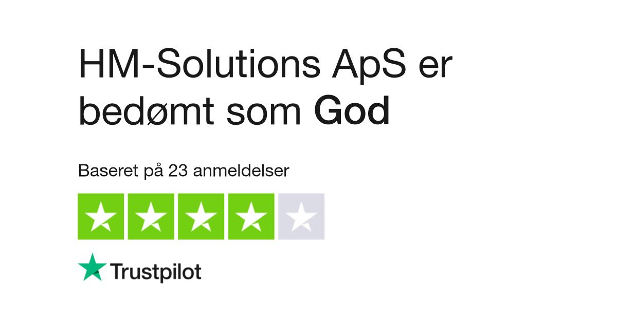 4d4f5a96cdf5 Anmeldelser af HM-Solutions ApS
