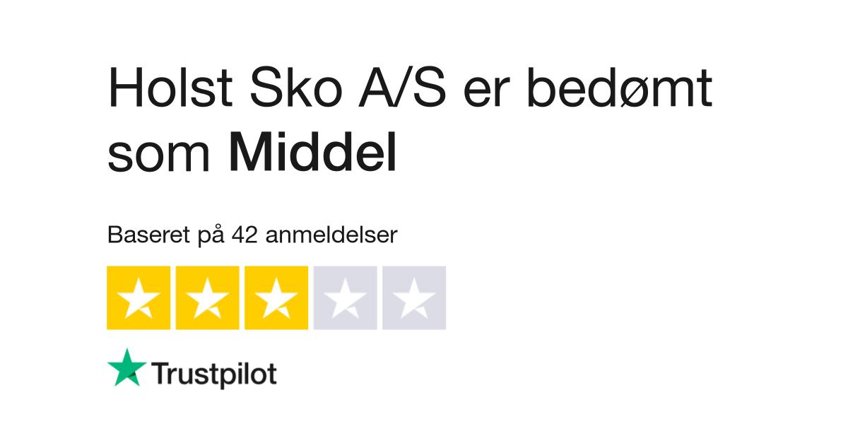 7bad1950adf7 Anmeldelser af Holst Sko Vejle