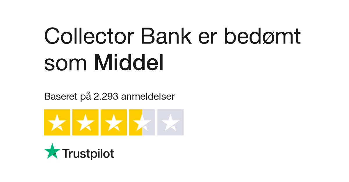 8929e6092729 Anmeldelser af Collector Bank Sverige