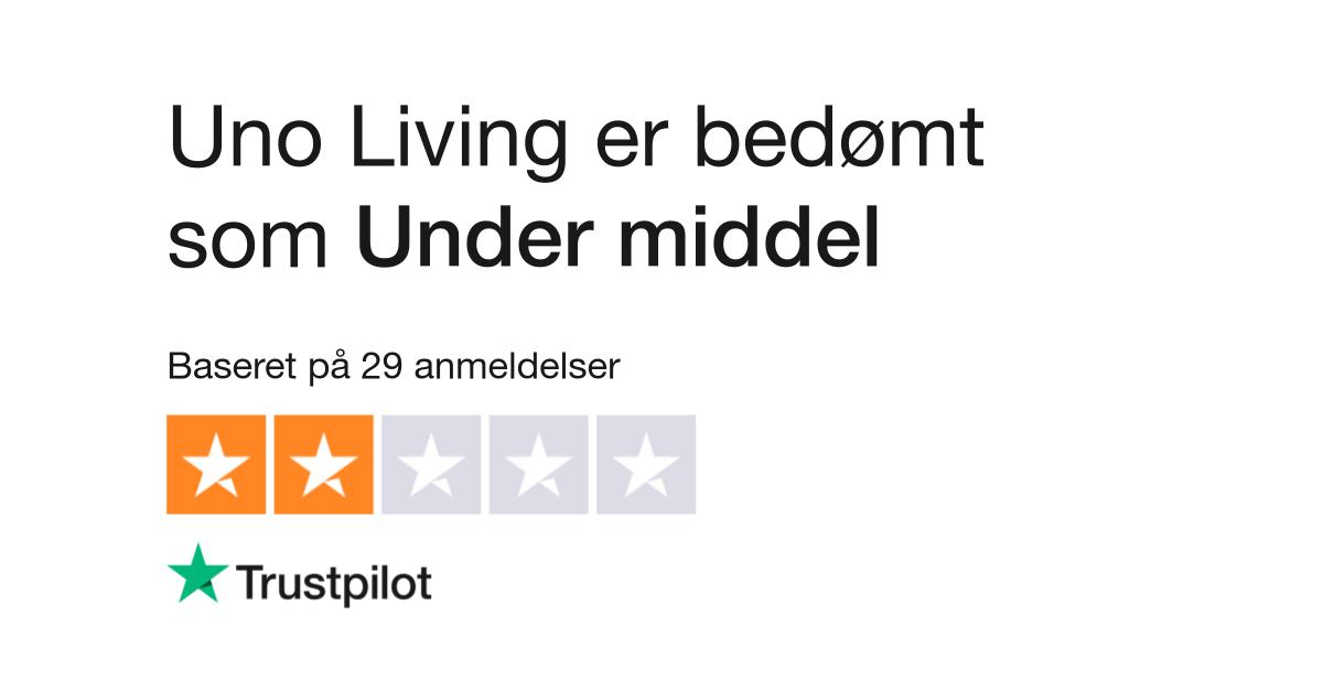 Unik Anmeldelser af Uno Living | Læs kundernes anmeldelser af uno PH45