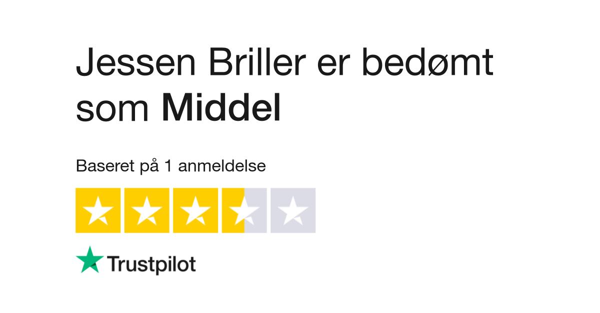 39df5856e966 Anmeldelser af Jessen Briller