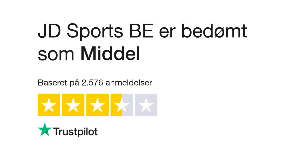 Anmeldelser af JD Sports | Læs kundernes anmeldelser af jd