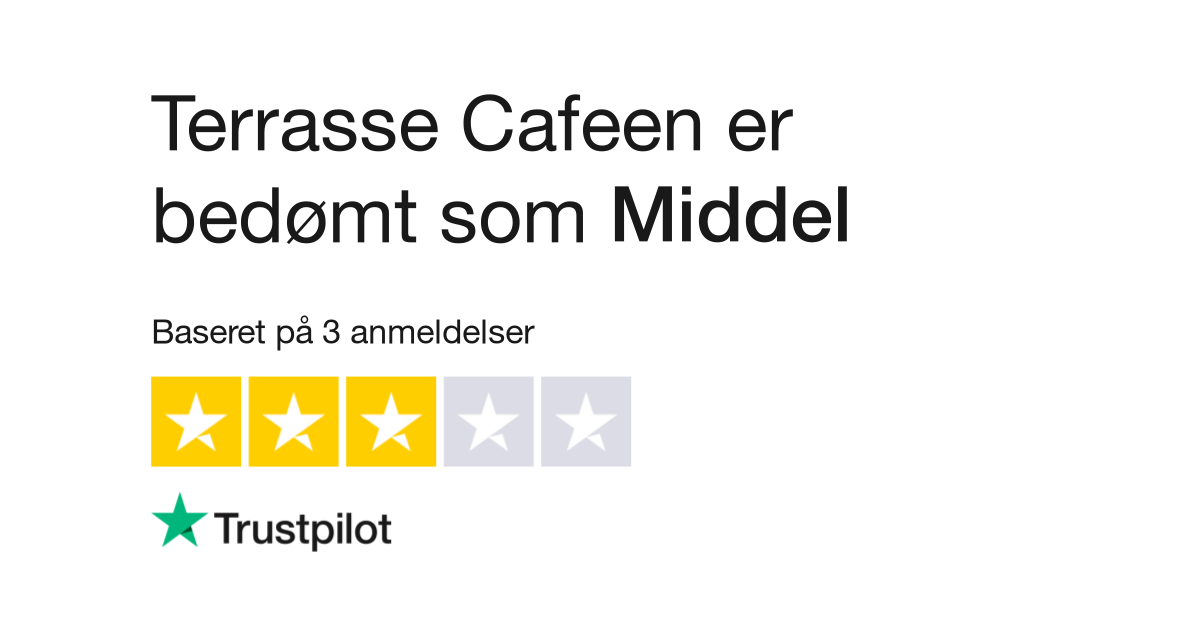 Anmeldelser Af Terrasse Cafeen Laes Kundernes Anmeldelser Af Www