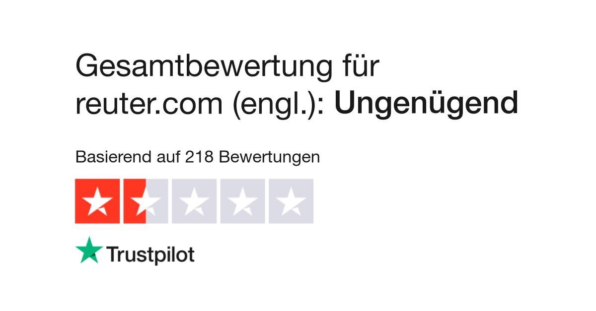 Bewertungen von Reuter Shop (engl.) | Kundenbewertungen von en ...