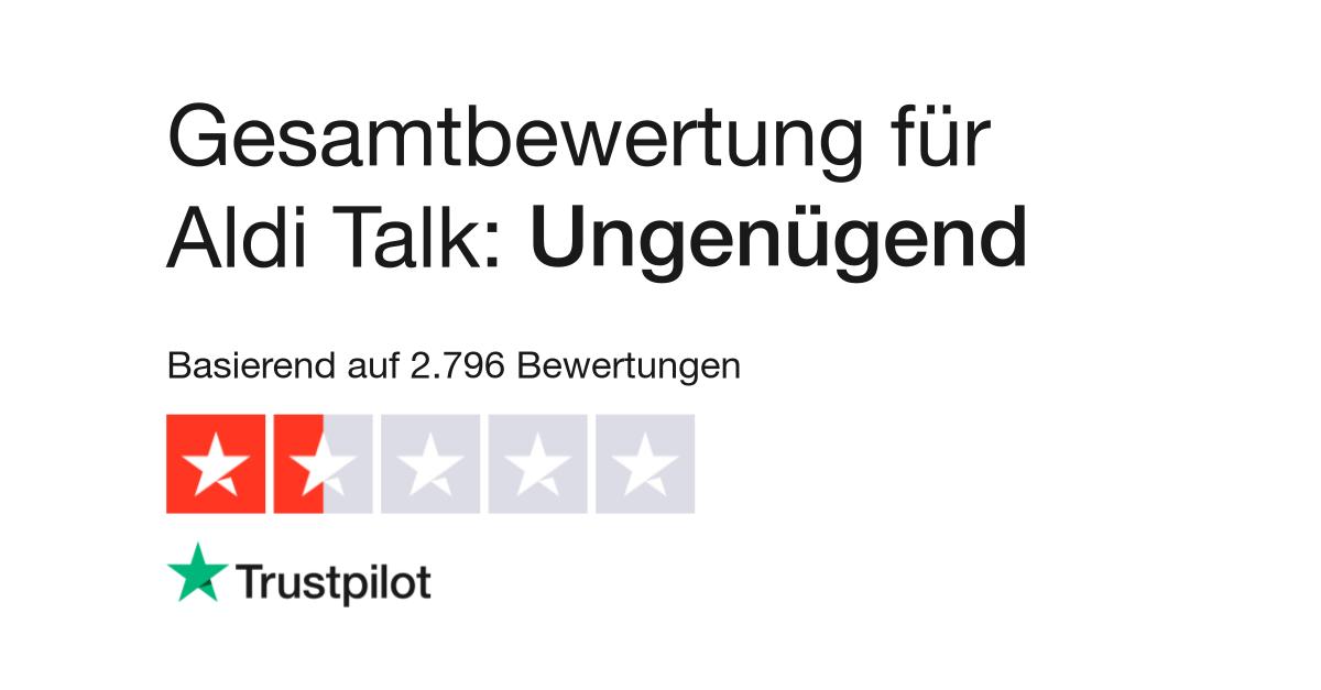 Aldi Talk Sim Karte Entsperren.Bewertungen Von Aldi Talk Kundenbewertungen Von Www Alditalk De