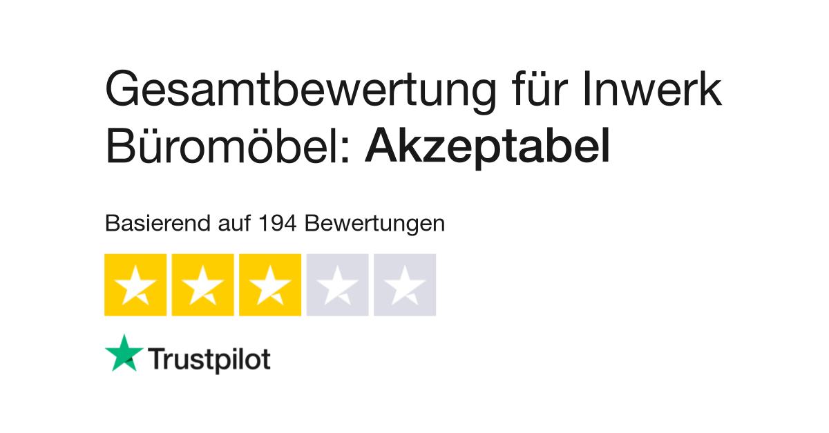 Bewertungen von Inwerk Büromöbel | Kundenbewertungen von inwerk.de ...