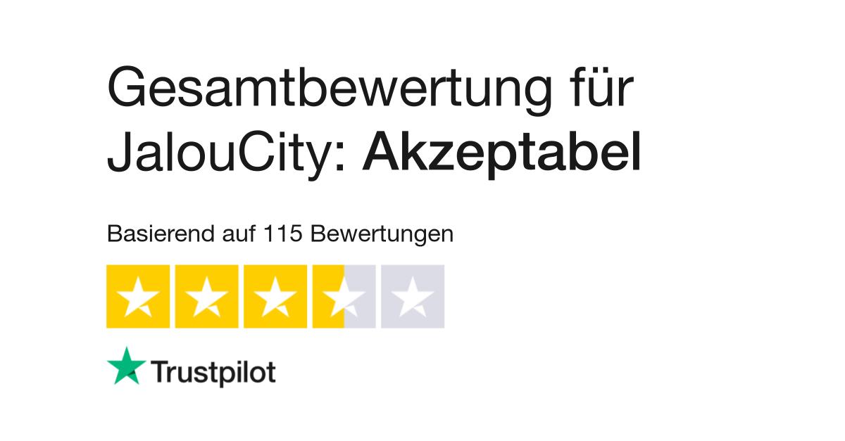 Bewertungen von JalouCity | Kundenbewertungen von www.jaloucity.de lesen