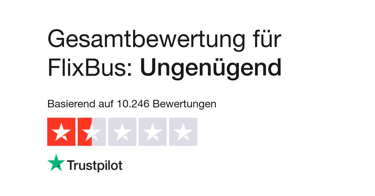 Bewertungen von FlixBus | Kundenbewertungen von flixbus.de lesen