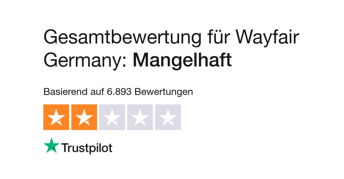 Bewertungen zu Wayfair Germany | Lesen Sie Kundenbewertungen