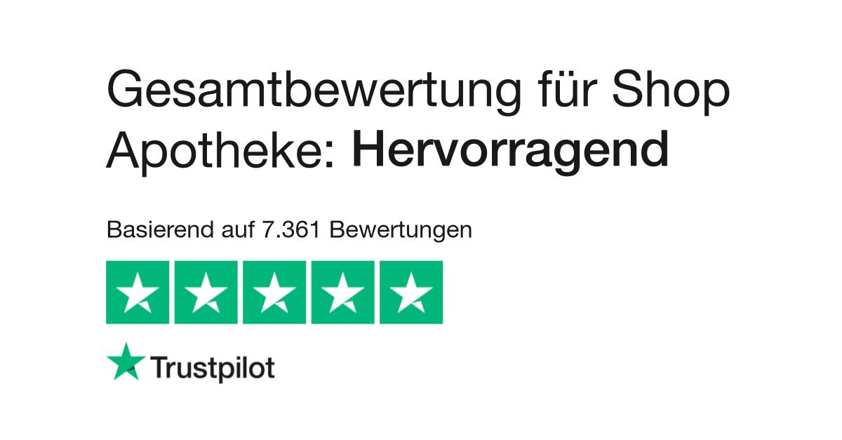 Bewertungen von Shop Apotheke | Kundenbewertungen von shop-apotheke ...