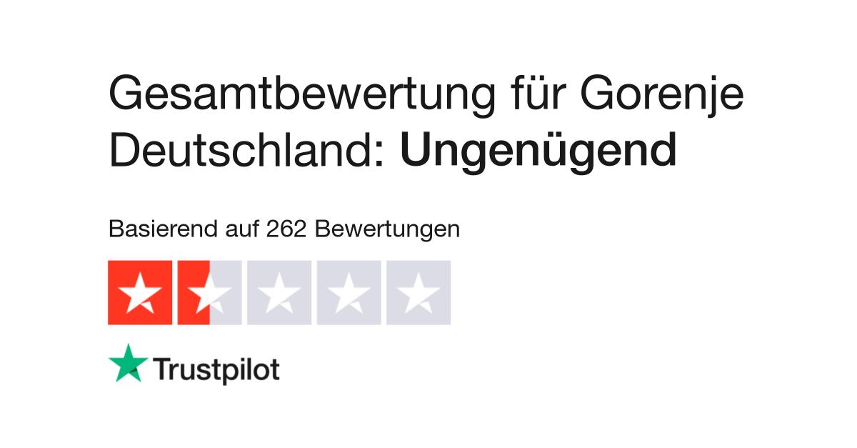 Bewertungen Von Gorenje Deutschland Kundenbewertungen Von Gorenje