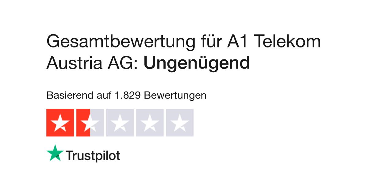 bewertungen von a1 telekom austria ag kundenbewertungen von lesen. Black Bedroom Furniture Sets. Home Design Ideas