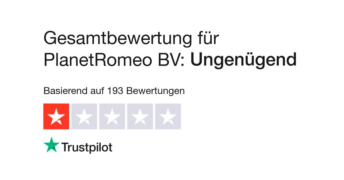 Bewertungen von PlanetRomeo BV   Kundenbewertungen von www ...  Bewertungen von...