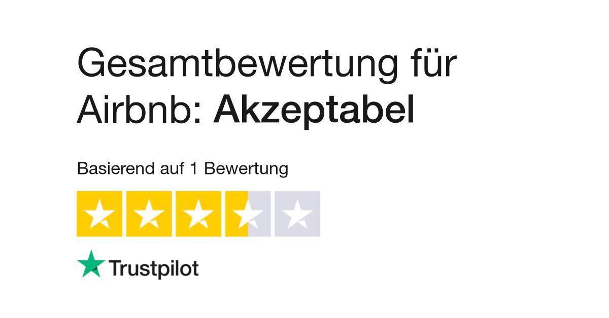 Bewertungen von Airbnb   Kundenbewertungen von accoleo.com lesen