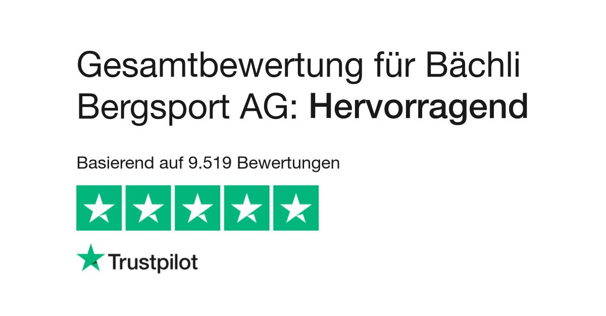 c418e97a040073 Bewertungen von Bächli Bergsport AG