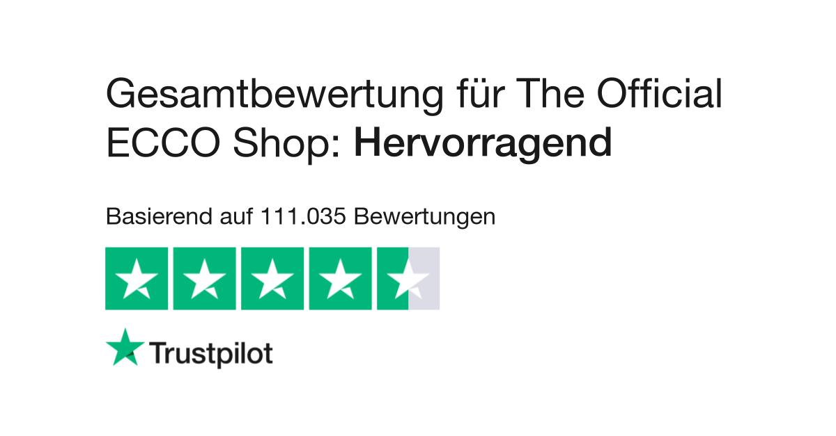 Bewertungen zu The Official ECCO Shop   Lesen Sie