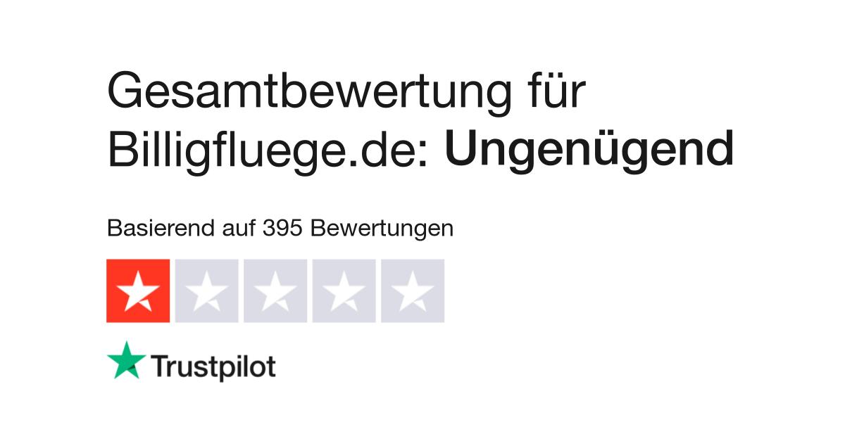 Bewertungen von Billigfluege.de | Kundenbewertungen von www ...