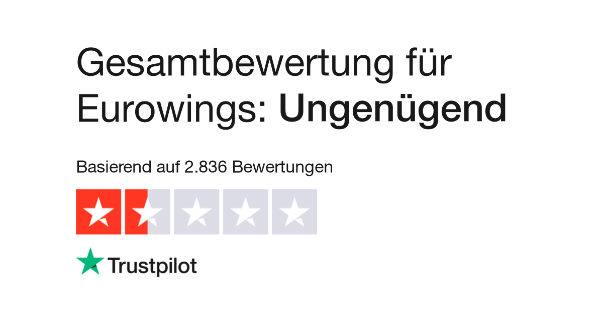 Bewertungen Von Eurowings Kundenbewertungen Von Wwwgermanwings