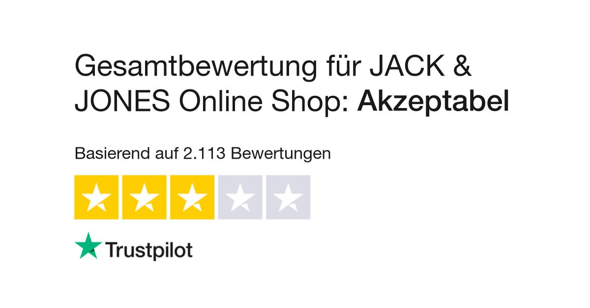 super popular 47dc9 f1a2b Bewertungen zu JACK & JONES Online Shop | Lesen Sie ...