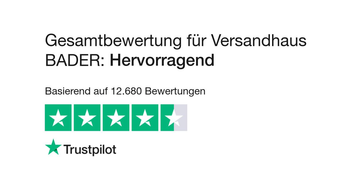 Bewertungen von Versandhaus BADER | Kundenbewertungen von www.bader ...