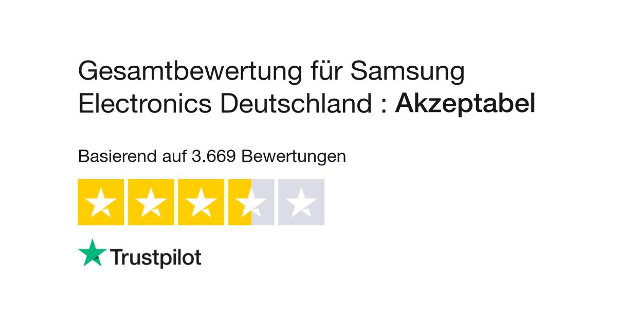 Bewertungen von Samsung Electronics | Kundenbewertungen von www ...