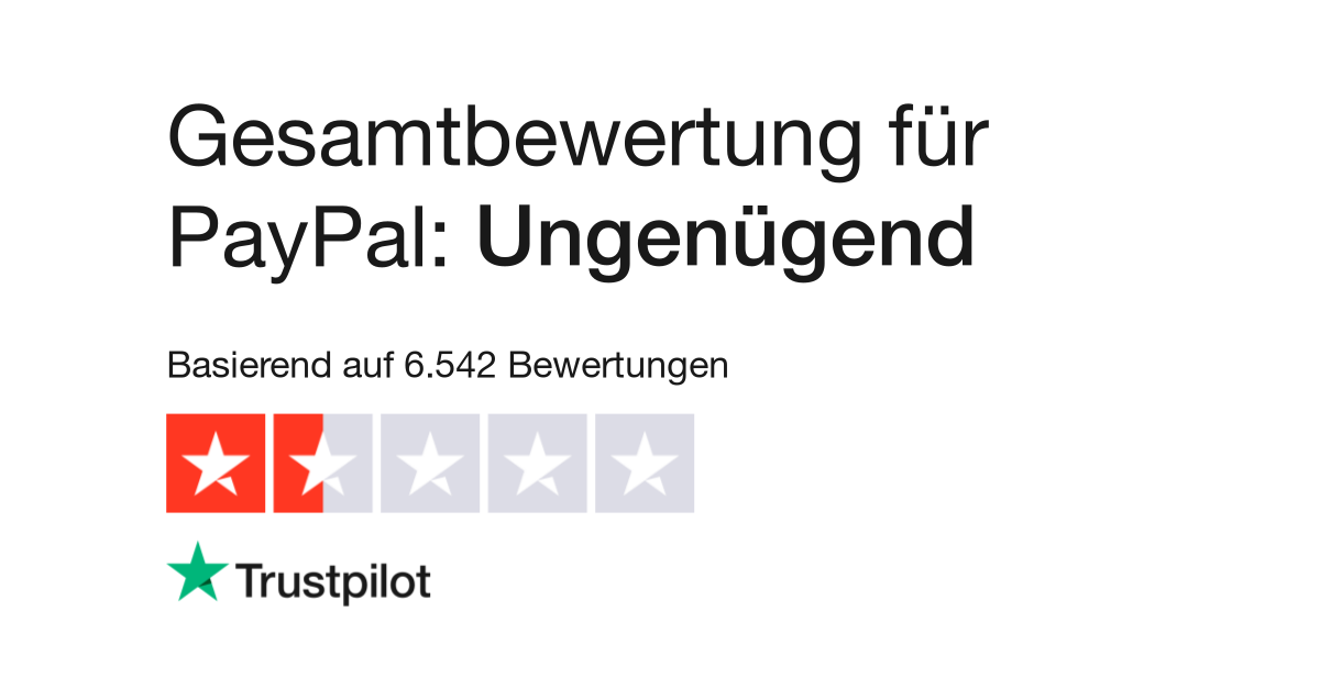 Bewertungen Von Paypal Kundenbewertungen Von Wwwpaypalde Lesen