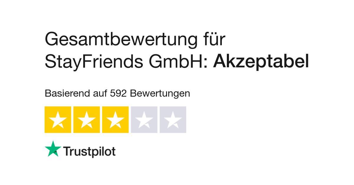 Bewertungen Von Stayfriends Gmbh Kundenbewertungen Von Www
