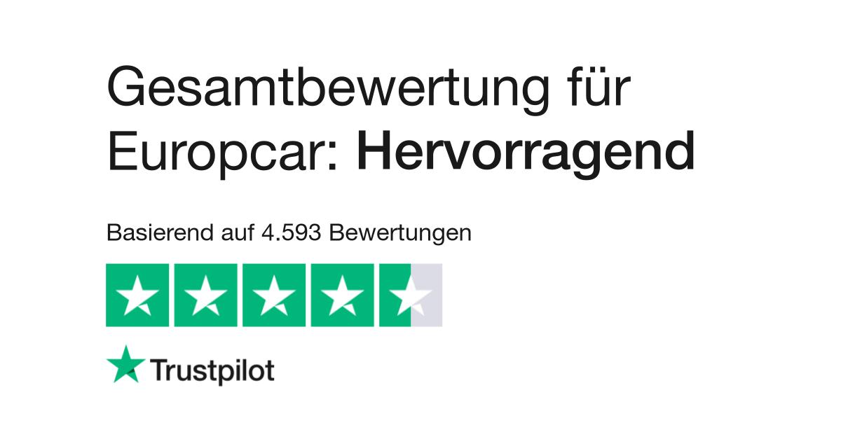 Bewertungen Von Europcar Kundenbewertungen Von Www Europcar De Lesen