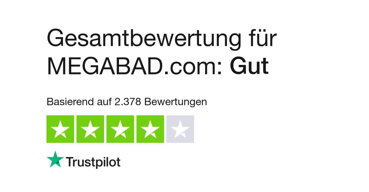 Bewertungen von Megabad | Kundenbewertungen von www.megabad ...