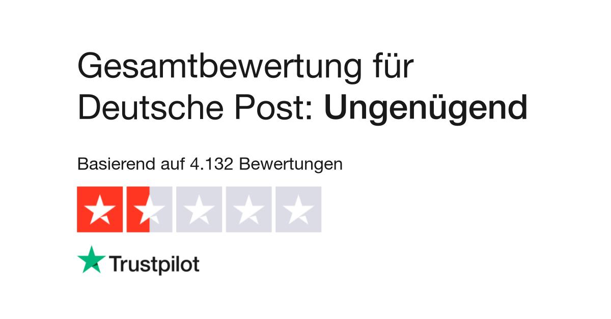 Bewertungen Von Deutsche Post Kundenbewertungen Von Www