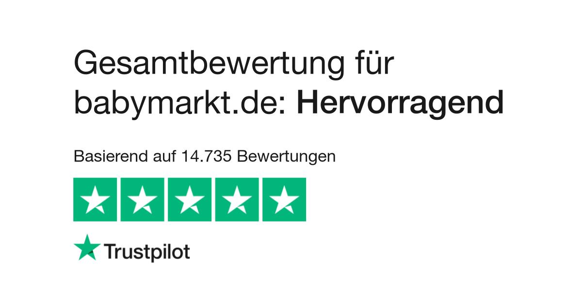 4194e8d9d917d5 Bewertungen von babymarkt.de