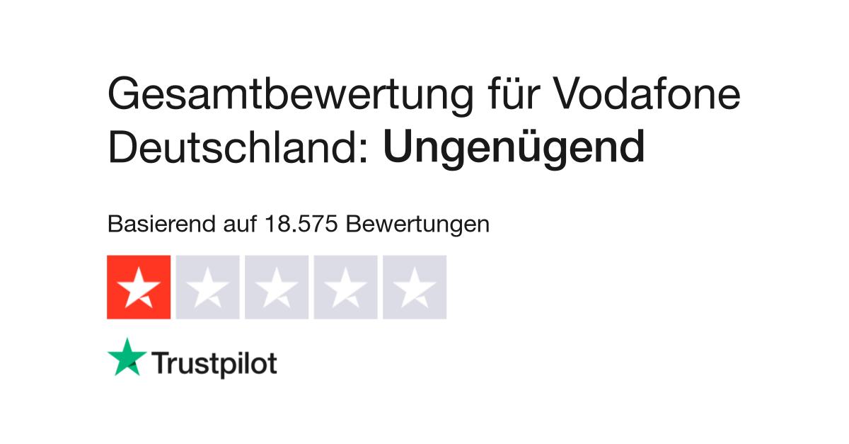 Bewertungen Von Vodafone Deutschland Kundenbewertungen Von Www