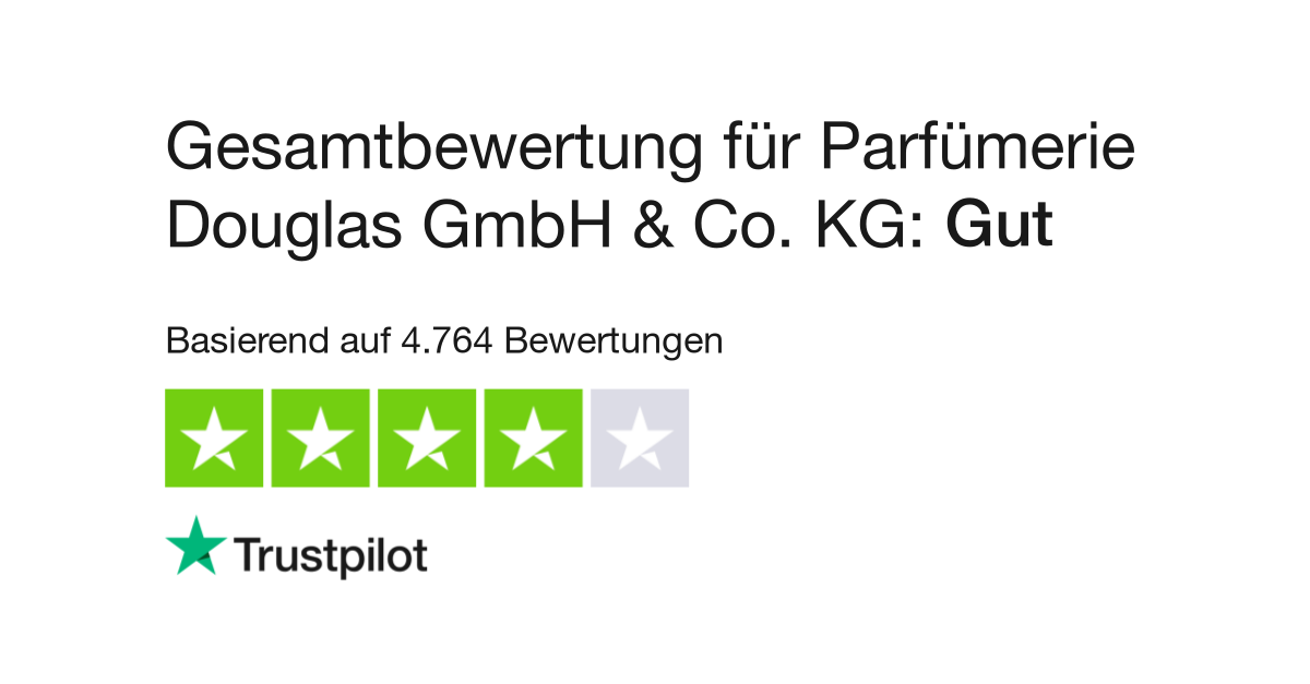 Douglas Bewertungen