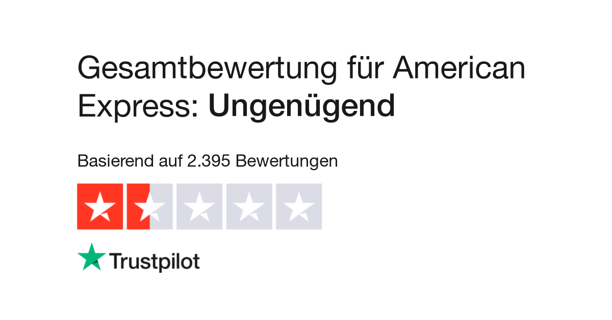 Bewertungen Von American Express Kundenbewertungen Von Www