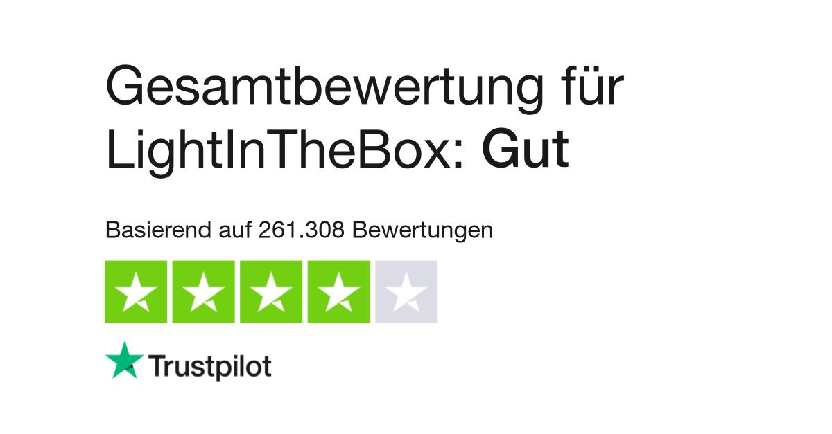 Lightinthebox Bewertung