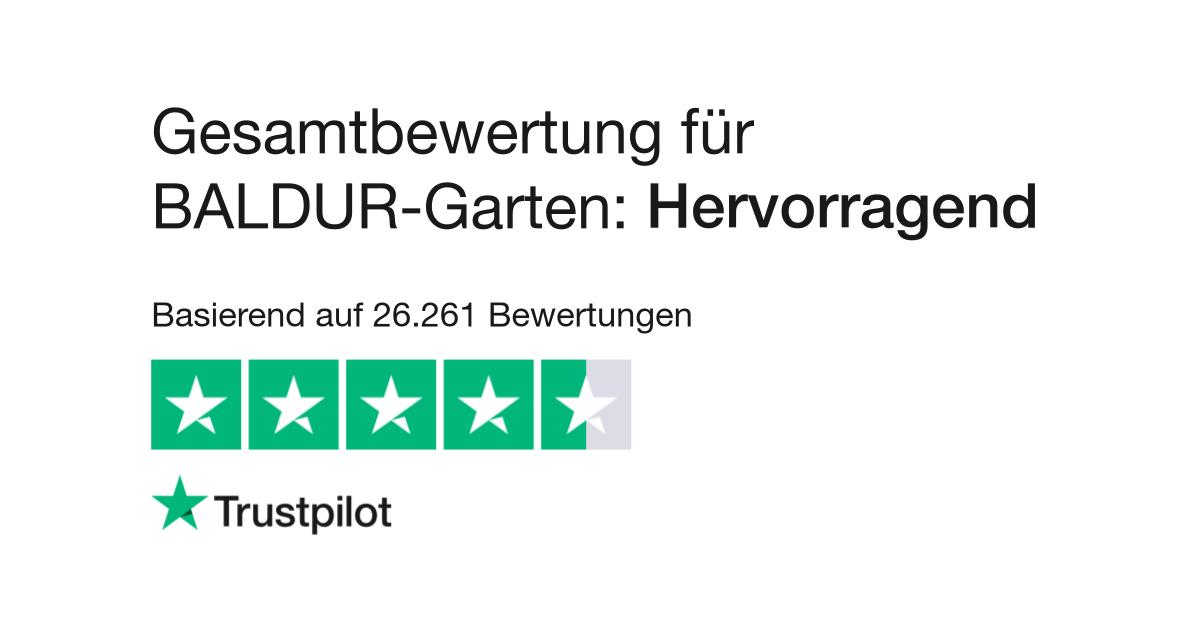 Bewertungen Von Baldur Garten Kundenbewertungen Von Wwwbaldur