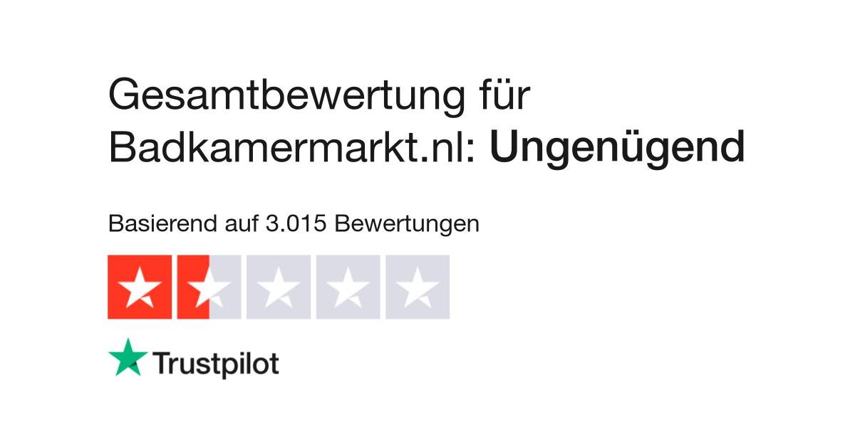 Bewertungen von Badkamermarkt.nl | Kundenbewertungen von www ...