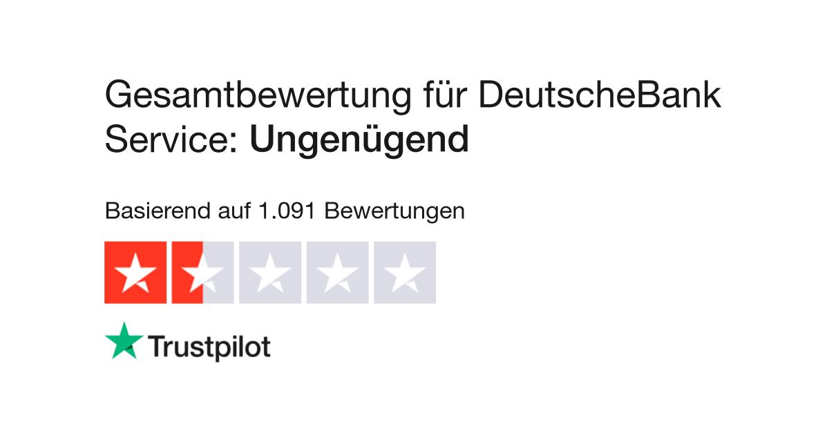 Deutsche Bank Ec Karte Sperren.Bewertungen Von Deutschebank Service Kundenbewertungen Von Www