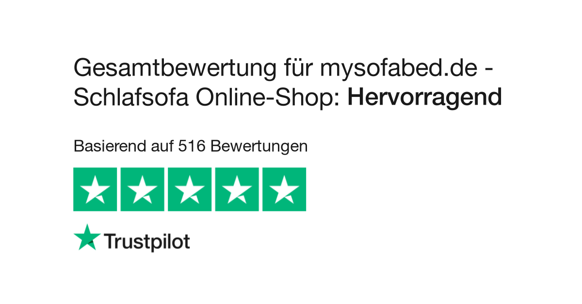 Bewertungen Von Mysofabed De Schlafsofa Online Shop