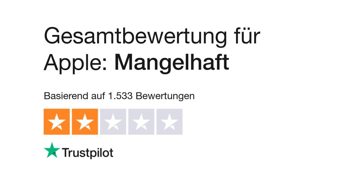 buy online e75ca 392df Bewertungen zu Apple   Lesen Sie Kundenbewertungen zu apple.de