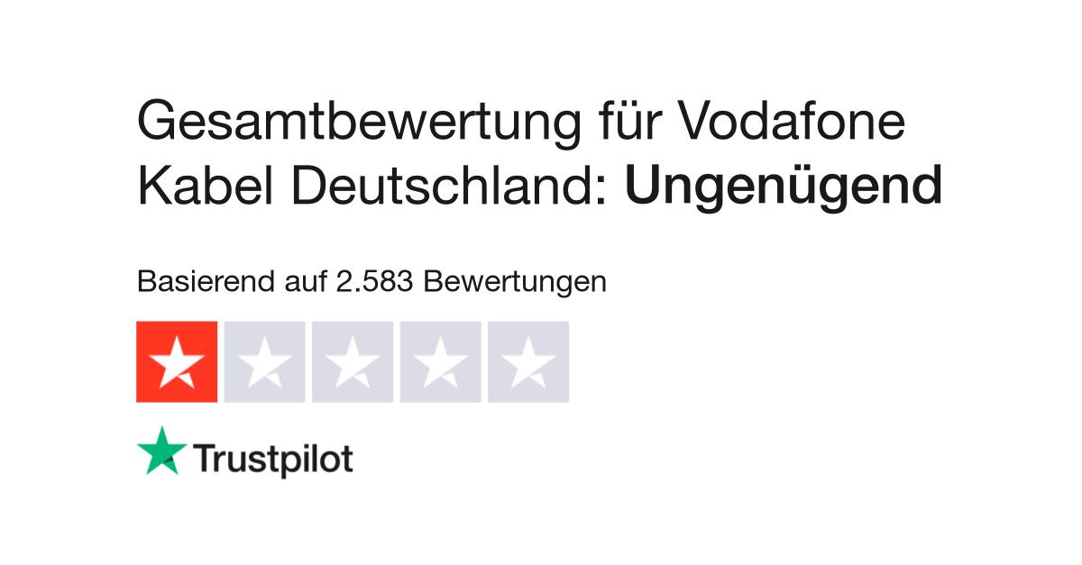 Bewertungen Von Vodafone Kabel Deutschland Kundenbewertungen Von