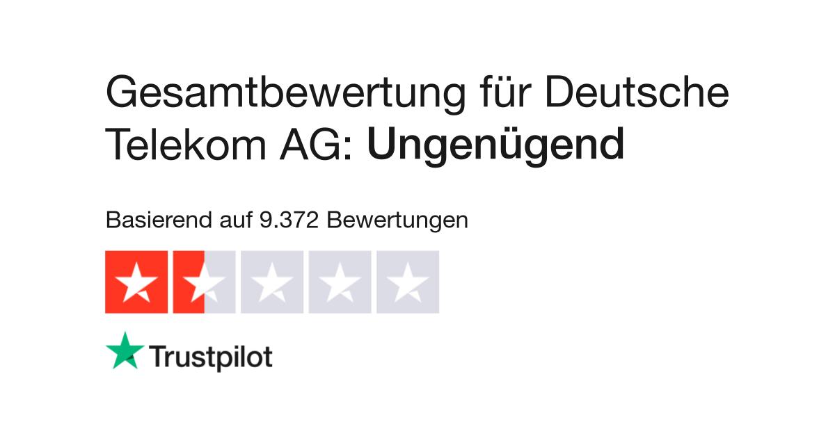 Bewertungen zu Deutsche Telekom AG | Lesen Sie ...