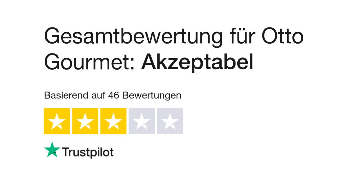 Bewertungen Von Otto Gourmet Kundenbewertungen Von Wwwotto