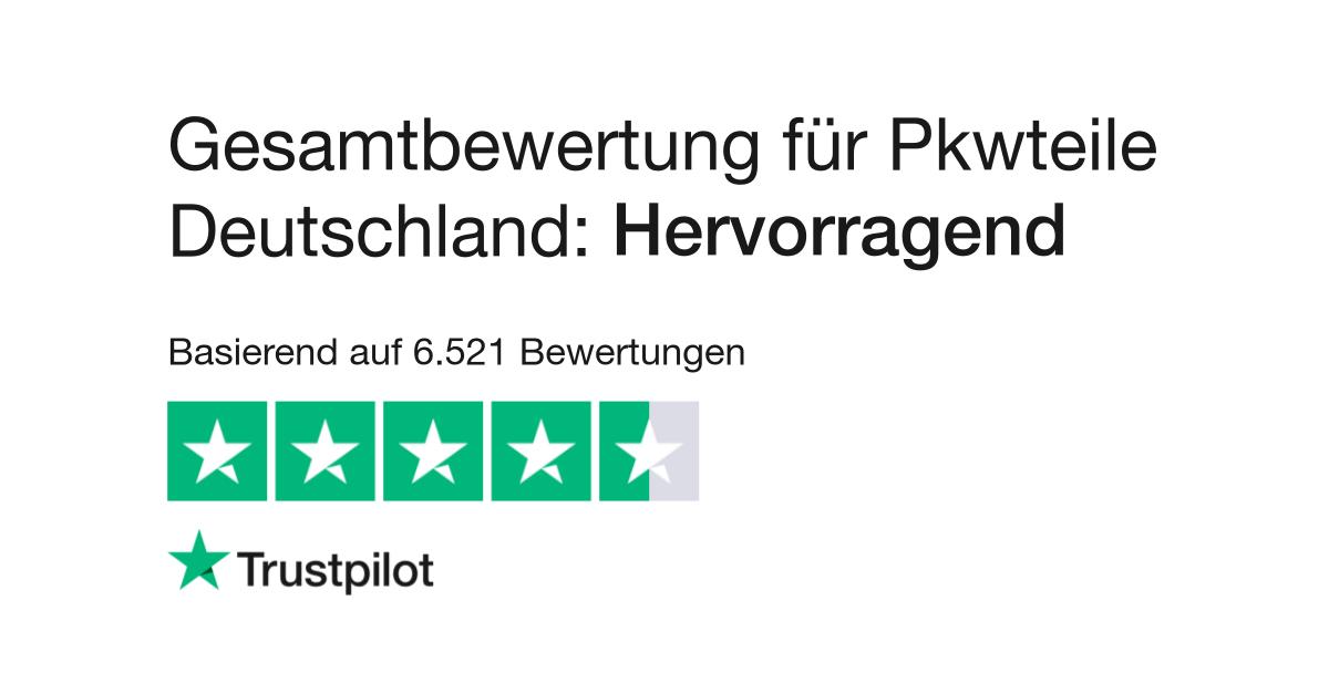 bewertungen von pkwteile deutschland kundenbewertungen. Black Bedroom Furniture Sets. Home Design Ideas