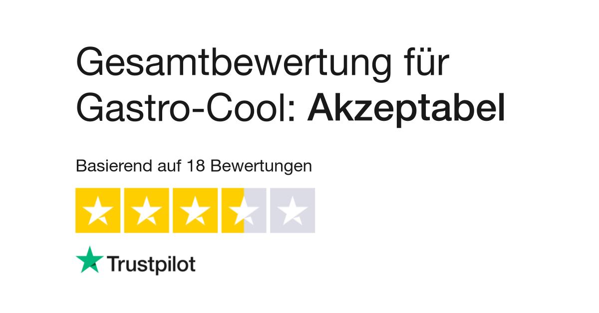 Bewertungen von Gastro-Cool | Kundenbewertungen von www.gastro-cool ...