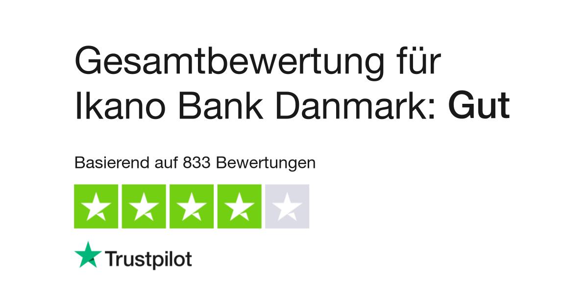 Bewertungen Zu Ikano Bank Danmark Lesen Sie Kundenbewertungen Zu Ikanobank Dk